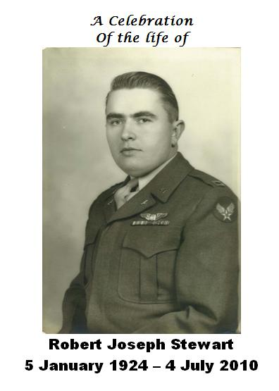 Robert Joseph Stewart, D-Day veteran